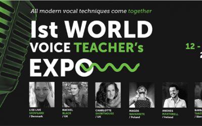1st World Voice Teachers Expo 2017 Poland