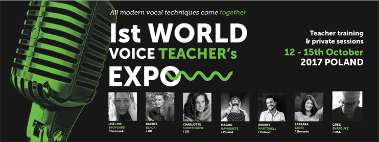 1st World Voice Teachers Expo 2017 Poland