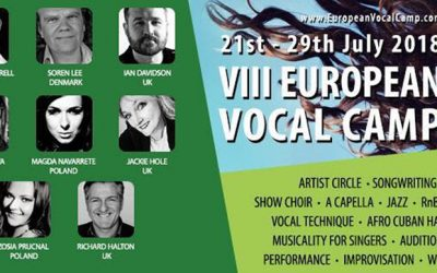 European Vocal Camp – 2018 Edition #vocalcamp