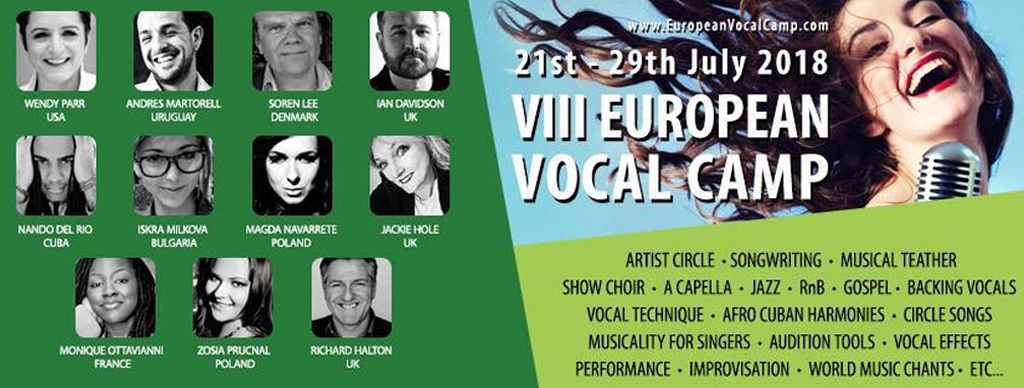 European Vocal Camp – 2018 Edition #vocalcamp